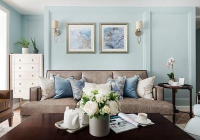 沙发照片墙装修效果图,宜家照片墙设计装修效果图