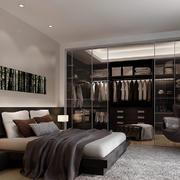 卧室简约壁柜大户型装修
