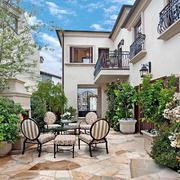 空间其他清新花园不规则户型装修