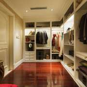 卧室现代衣帽间100平米装修