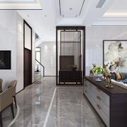 客厅现代地面100平米装修
