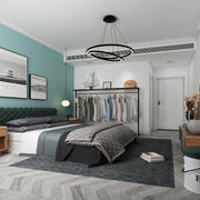 卧室现代局部100平米装修