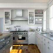 厨房现代局部一居室装修