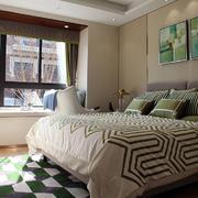 卧室清新局部一居室装修
