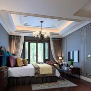 卧室中式局部一居室装修