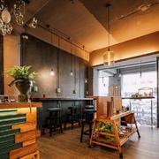 餐厅美式局部100平米装修
