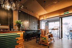 小资餐厅门面装修效果图,美式餐厅门面装修效果图大全