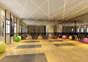 儿童健身房的设计效果图,儿童健身房设计效果图