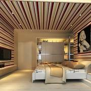 卧室现代墙面100平米装修
