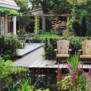 空间其他简约花园一居室装修