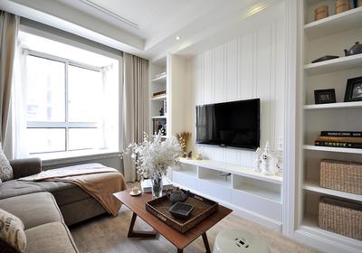 深色门配浅色家具装修效果图,小房深色家具装修效果图
