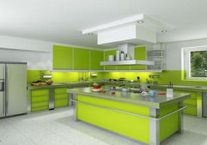 餐馆开放式厨房装修效果图,餐馆开放式厨房装修效果图欣赏