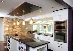 小餐馆开放式厨房装修效果图大全,小餐馆开放式厨房装修效果图欣赏