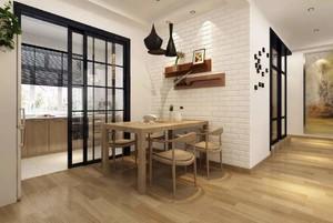 开放式厨房隔断门装修效果图欣赏,最新厨房隔断门装修效果图
