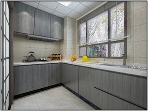 厨房与阳台隔断门装修效果图欣赏,北欧风格厨房隔断门装修效果图