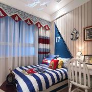 儿童房地中海壁纸一居室装修