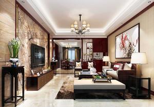 中式客厅复古装修效果图,中式复古装修设计效果图大全