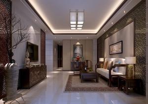 房屋中式复古装修风格效果图,中式复古装修客厅效果图大全