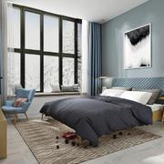 卧室北欧局部一居室装修