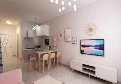 90平米三室一厅简装修效果图,90平米三室一厅走廊装修效果图大全