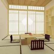 客厅日式局部90平米装修