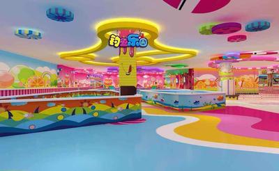 游乐园平面设计图,室内主题游乐园设计图