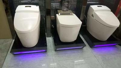 卫浴展厅小便器效果图,华艺卫浴展厅效果图