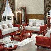 客厅中式家具一居室装修