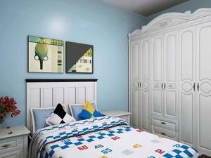 6平米卧室的装修效果图,6平米主卧室装修效果图