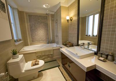 小正方形卫生间装修效果图大全,2平方正方形小卫生间装修效果图