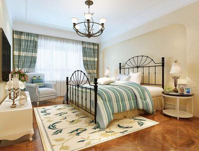 歐式小臥室壁紙裝修效果圖,婚房歐式臥室壁紙裝修效果圖大全