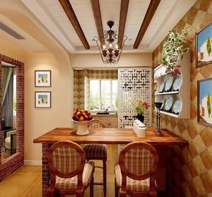 电视墙餐厅半隔断装修效果图,厨房与餐厅隔断墙怎么装修