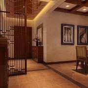 餐厅中式局部90平米装修