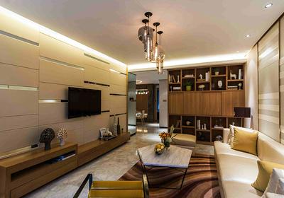 三室一廳一衛90平米裝修效果圖,90平米三室一廳簡裝修效果圖大全