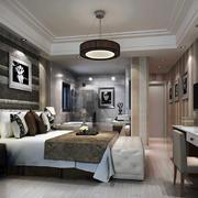 卧室简欧家具一居室装修