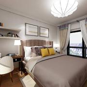 卧室简欧床头柜小户型装修