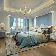 卧室欧式地板一居室装修