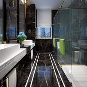 卫生间简约地板一居室装修