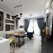 客厅简欧壁柜一居室装修