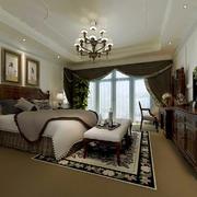 卧室美式局部小户型装修