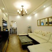 客厅现代局部公寓装修