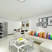 客厅现代阁楼90平米装修