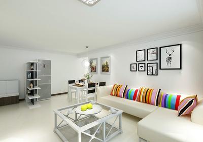 90平米两室一厅带阁楼装修效果图,90平米小户型两室一厅装修效果图