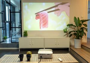 投影仪的客厅怎么装修,客厅装修投影仪效果图