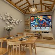 餐厅日式局部90平米装修