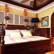 卧室东南亚局部90平米装修
