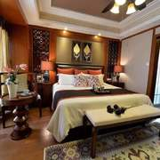 卧室东南亚局部80平米装修