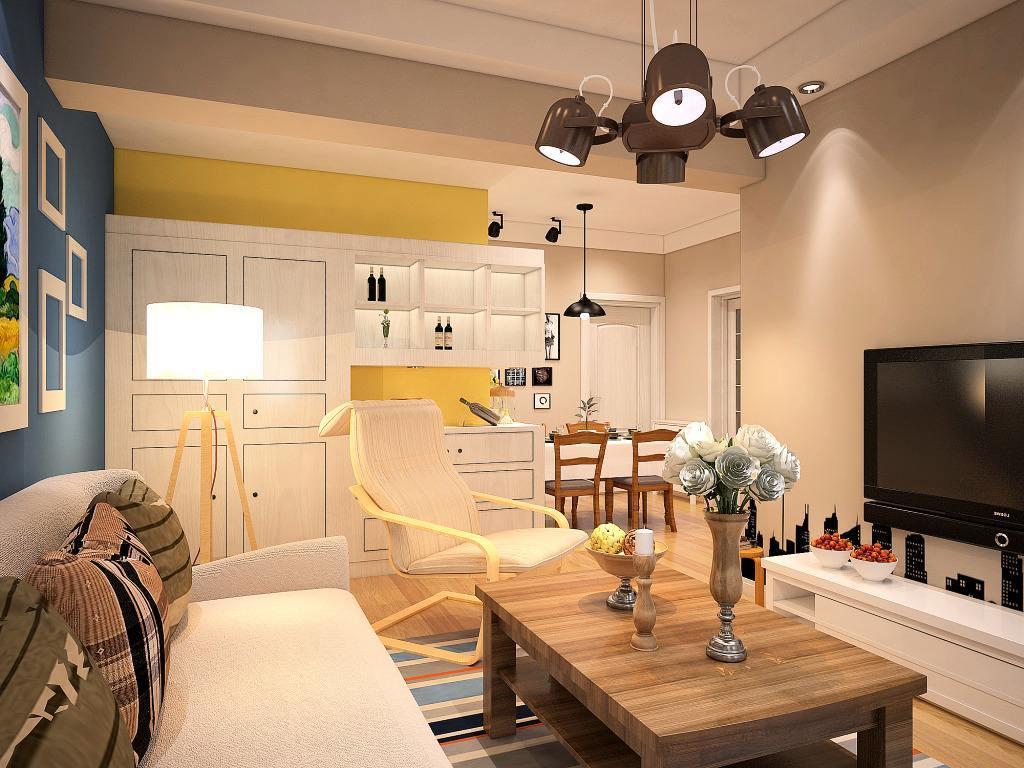 卧室现代局部小户型装修图片