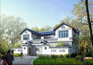 占地160平米四开间两层别墅设计图,160平米自建别墅设计图