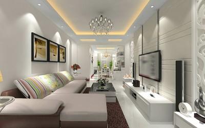 100平米三室房屋装修效果图,100平米房屋装修整体效果图